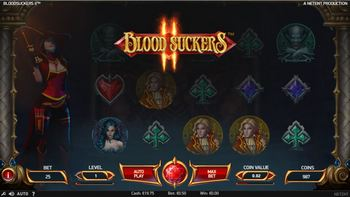Blood Suckers 2 van NetEnt