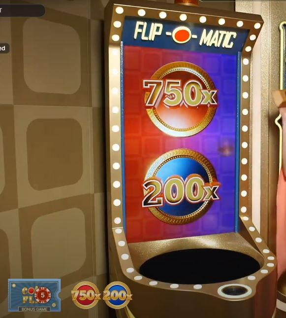 coin flip crazy time