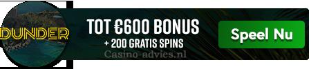 Dunder Casino spelen